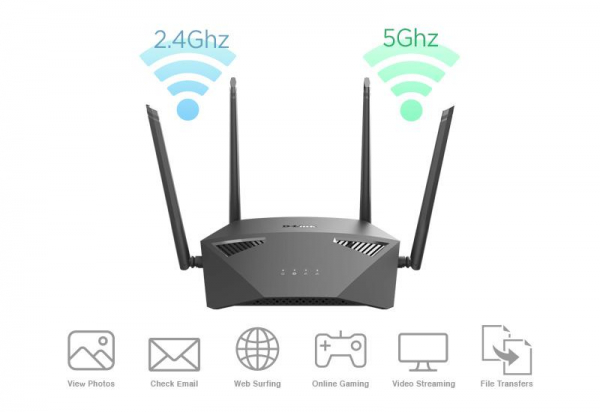 D-LINK AC1900 MU-MIMO WIFI GB ROUTER 0