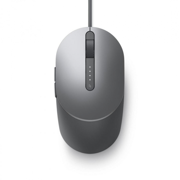 DL MOUSE Laser Wired MS3220 Titan Gray 5
