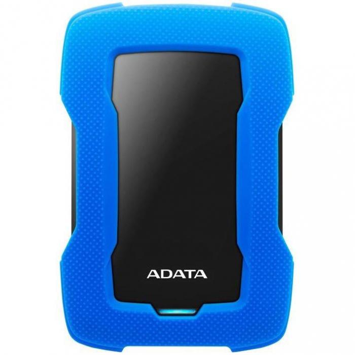 """EHDD 2TB ADATA 2.5"""" AHD330-2TU31-CBL [0]"""