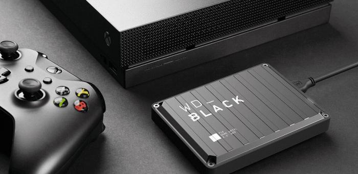 """EHDD 2TB WD 2.5"""" BLACK P10 GAME DRIVE XB [0]"""