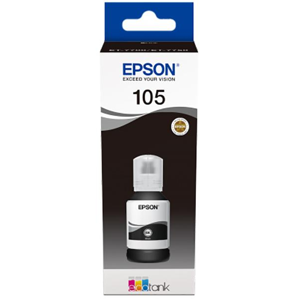 EPSON 105 ECOTANK BLACK INK BOTTLE 0