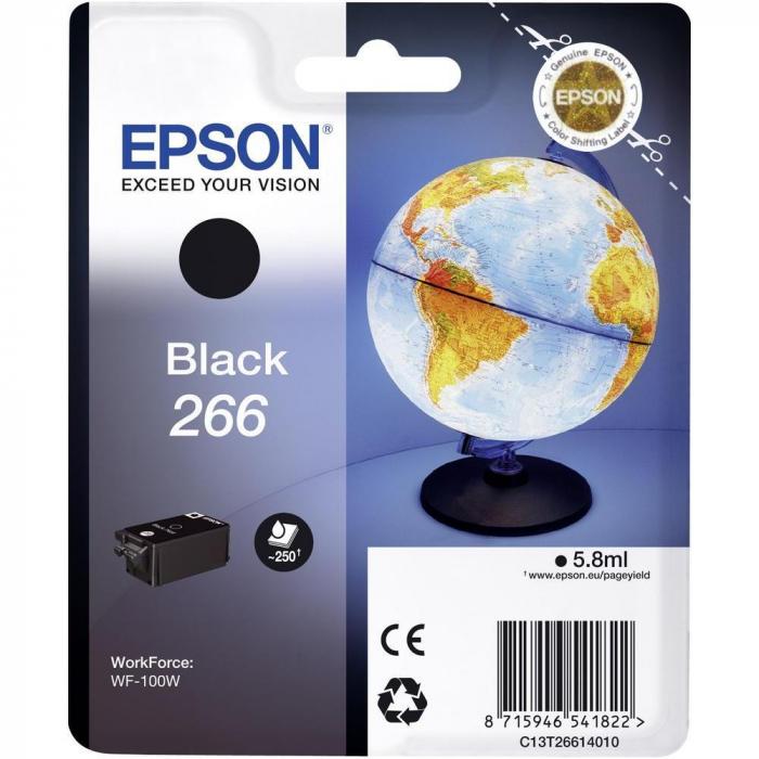 EPSON 266 BLACK INKJET CARTRIDGE [0]