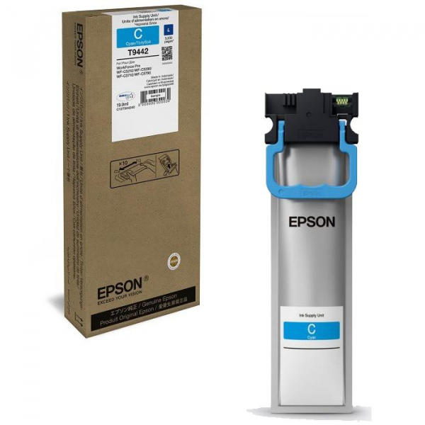 EPSON C5XXX CYAN INKJET CARTRIDGE L 0