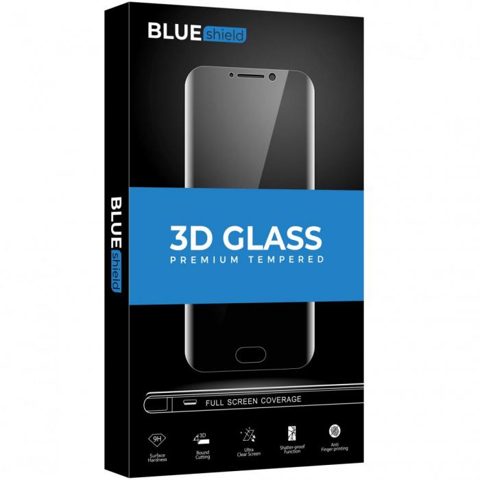Folie Sticla BLUE iPh 12 ProMax 2.5D Blk [1]