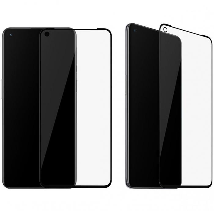 Folie Sticla OnePlus 9  3D, Neagra [0]