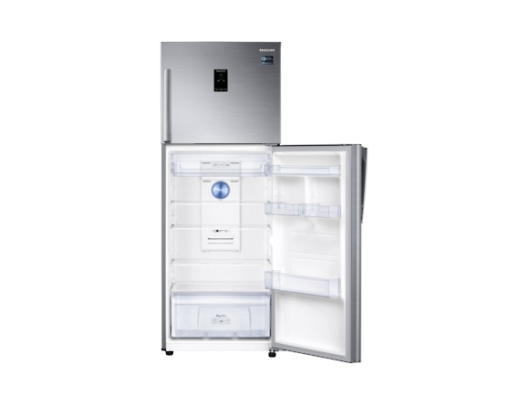 Frigider Samsung RT38K5435S9, Capacitate 384L, Capacitate neta congelator: 89l, Capacitate neta frigider: 295l, Inaltime 1785mm, Latime: 675mm, Adancime 668mm, Functii racire: Twin Cooling Plus/No Fro 5
