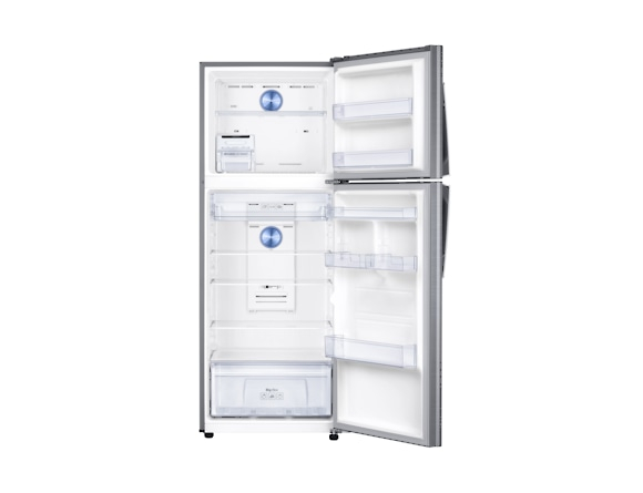 Frigider Samsung RT38K5435S9, Capacitate 384L, Capacitate neta congelator: 89l, Capacitate neta frigider: 295l, Inaltime 1785mm, Latime: 675mm, Adancime 668mm, Functii racire: Twin Cooling Plus/No Fro 3