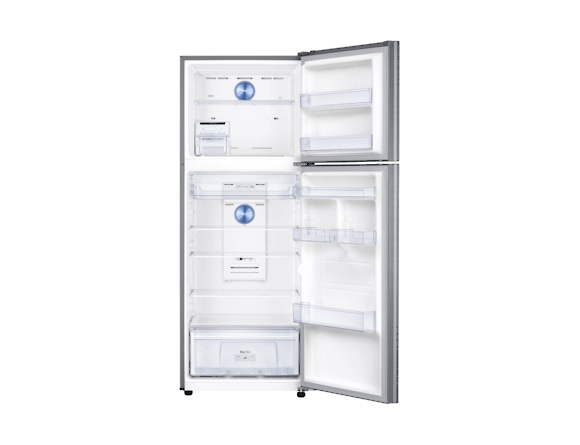 Frigider Samsung RT38K5530S9, Capacitate 384L, Capacitate neta congelator: 89l, Capacitate neta frigider: 295l, Inaltime 1785mm, Latime: 675mm, Adancime 668mm, Functii racire: Twin Cooling Plus/No Fro 3