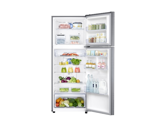 Frigider Samsung RT38K5530S9, Capacitate 384L, Capacitate neta congelator: 89l, Capacitate neta frigider: 295l, Inaltime 1785mm, Latime: 675mm, Adancime 668mm, Functii racire: Twin Cooling Plus/No Fro 4