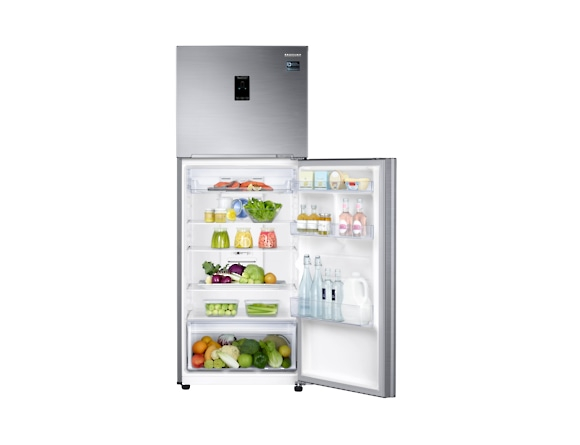 Frigider Samsung RT38K5530S9, Capacitate 384L, Capacitate neta congelator: 89l, Capacitate neta frigider: 295l, Inaltime 1785mm, Latime: 675mm, Adancime 668mm, Functii racire: Twin Cooling Plus/No Fro 6
