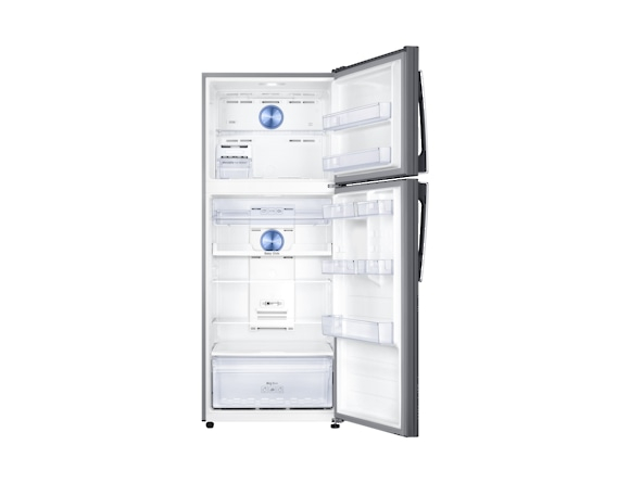 Frigider Samsung RT43K6335SL, Capacitate 440L, Capacitate neta congelator: 111l, Capacitate neta frigider: 329l, Inaltime 1785mm, Latime: 700mm, Adancime 776mm, Functii racire: Twin Cooling Plus/No Fr 3