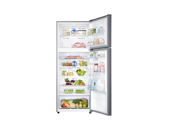 Frigider Samsung RT46K6200S9, Capacitate 453L, Capacitate neta congelator: 111l, Capacitate neta frigider: 342l, Inaltime 1825mm, Latime: 700mm, Adancime726mm, Functii racire: Twin Cooling Plus/No Fro 4