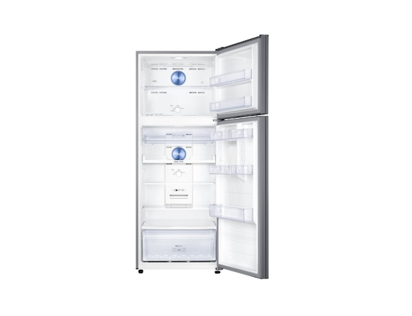 Frigider Samsung RT46K6200S9, Capacitate 453L, Capacitate neta congelator: 111l, Capacitate neta frigider: 342l, Inaltime 1825mm, Latime: 700mm, Adancime726mm, Functii racire: Twin Cooling Plus/No Fro 3
