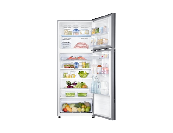 Frigider Samsung RT46K6630S8, Capacitate 452L, Capacitate neta congelator: 111l, Capacitate neta frigider: 341l, Inaltime 1825mm, Latime: 700mm, Adancime726mm, Functii racire: Twin Cooling Plus/No Fro 4