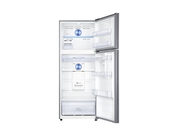 Frigider Samsung RT46K6630S8, Capacitate 452L, Capacitate neta congelator: 111l, Capacitate neta frigider: 341l, Inaltime 1825mm, Latime: 700mm, Adancime726mm, Functii racire: Twin Cooling Plus/No Fro 3