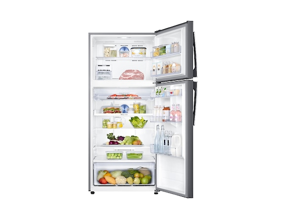 Frigider Samsung RT50K6335SL, Capacitate 500L, Capacitate neta congelator: 125l, Capacitate neta frigider: 375l, Inaltime 1790mm, Latime: 790mm, Adancime770mm, Functii racire: Twin Cooling Plus/No Fro 4