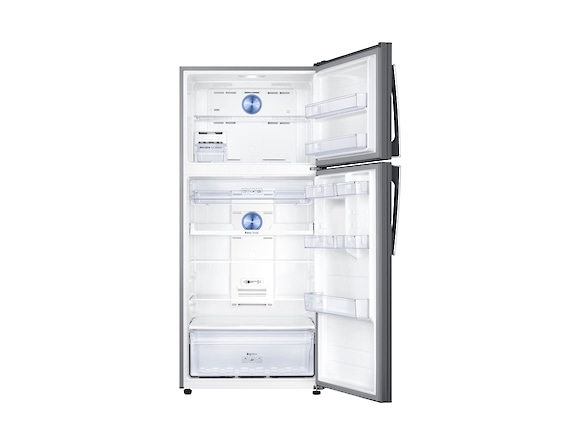 Frigider Samsung RT50K6335SL, Capacitate 500L, Capacitate neta congelator: 125l, Capacitate neta frigider: 375l, Inaltime 1790mm, Latime: 790mm, Adancime770mm, Functii racire: Twin Cooling Plus/No Fro 3