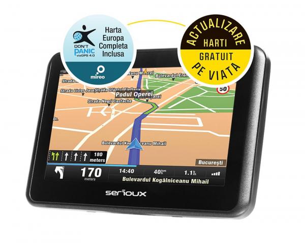 "GPS 4.3"" SERIOUX  URBANPILOT FE UPQ430FE 0"