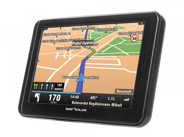 "GPS 5.0"" SERIOUX  URBANPILOT UPQ500 2"
