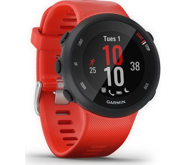 GPS RUNNING WATCH GR FORERUNNER 45 RED L 0