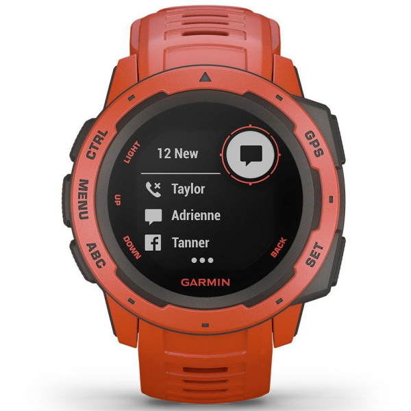 GPS Watch Garmin INSTINCT FLAME RED 2
