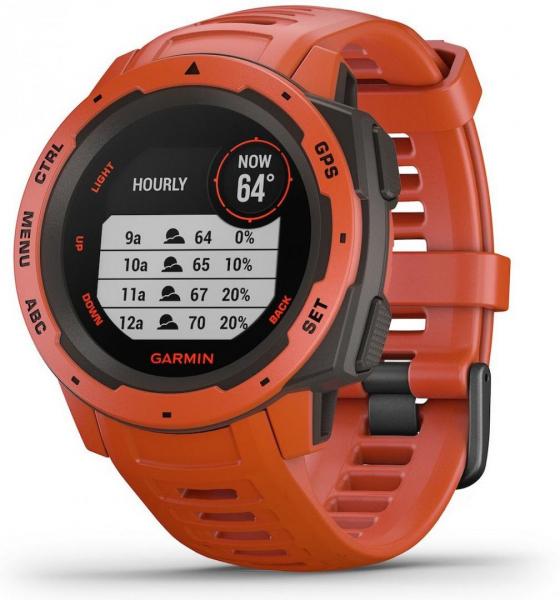 GPS Watch Garmin INSTINCT FLAME RED 0