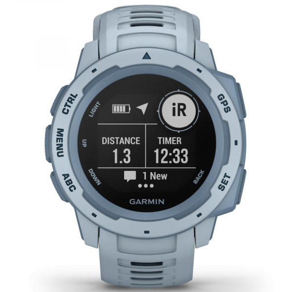 GPS Watch Garmin INSTINCT Sea Foam 1