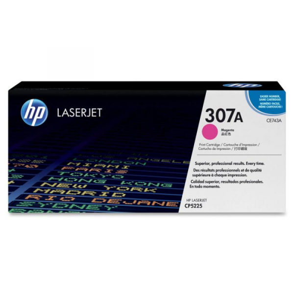 HP CE743A MAGENTA TONER CARTRIDGE 0