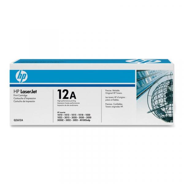 HP Q2612A BLACK TONER CARTRIDGE 0