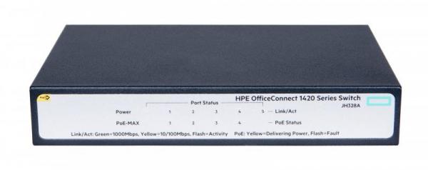 HPE 1420 5G POE+ (32W) SWITCH 1
