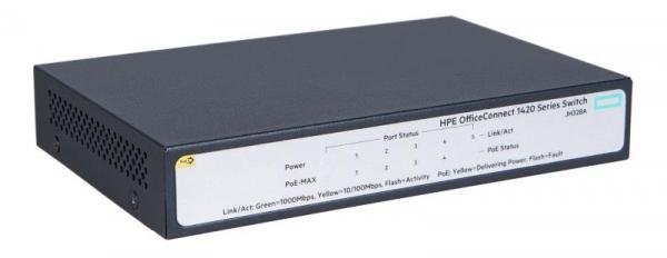 HPE 1420 5G POE+ (32W) SWITCH 5