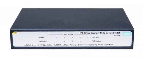 HPE 1420 5G POE+ (32W) SWITCH 4