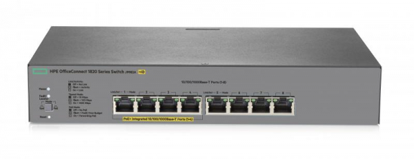 HPE 1820 8G POE+ (65W) SWITCH 1
