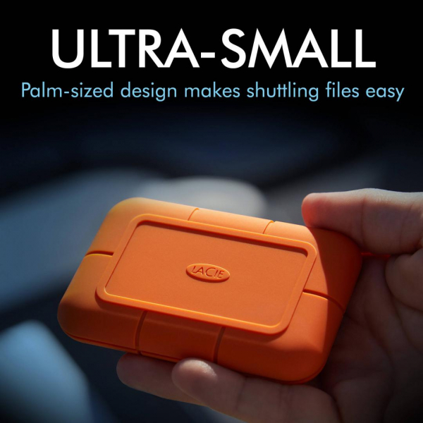 LACIE EXTERNAL SSD 2TB RUGGED TYPE-C 1