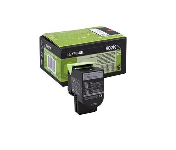 LEXMARK 80C20KE BLACK TONER 0