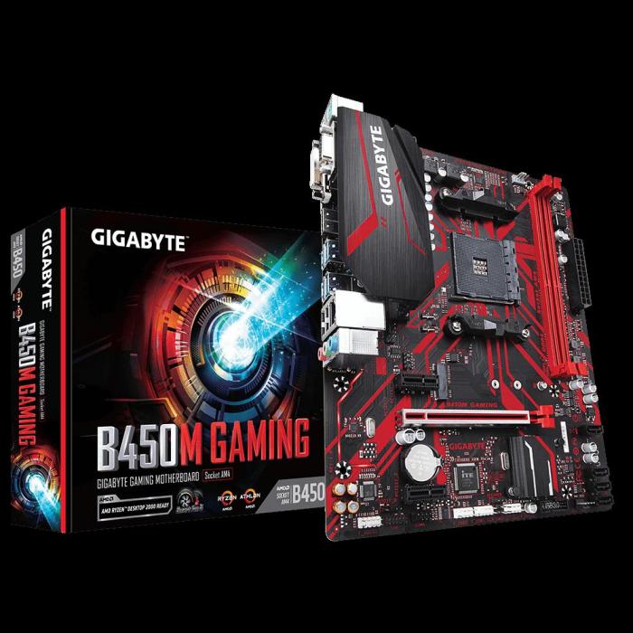 MB AMD B450 GIGABYTE B450M GAMING [0]