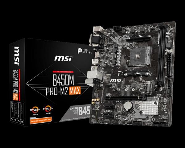 MB AMD MSI B450M PRO-M2 MAX 0