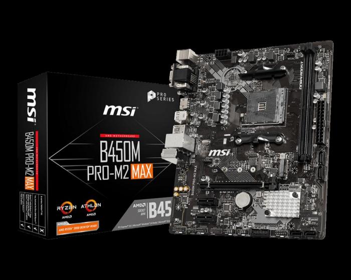 MB AMD MSI B450M PRO-M2 MAX [0]