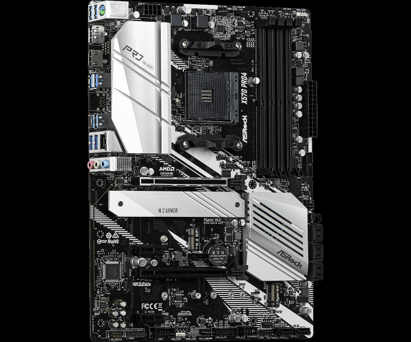 MB AMD X570 ASROCK X570 PRO4 2