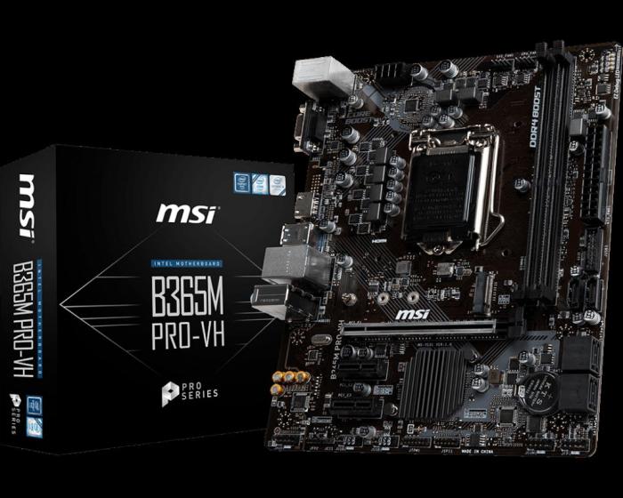 MB INTEL MSI B365M PRO-VH [0]