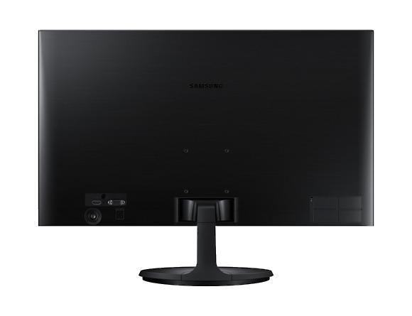 Monitor Samsung LS24F354FHUXEN, 23.5 inch, LED, PLS, 1920x1080 pixeli, 16:9, 4(GTG) ms, 250cd/m2,  1.000:1, 178°(H)/178°(V),  60Hz, D-Sub, HDMI, VESA 75.0 x 75.0 mm,  Tilt,  Black  6