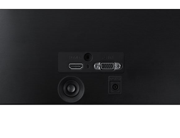 Monitor Samsung LS24F354FHUXEN, 23.5 inch, LED, PLS, 1920x1080 pixeli, 16:9, 4(GTG) ms, 250cd/m2,  1.000:1, 178°(H)/178°(V),  60Hz, D-Sub, HDMI, VESA 75.0 x 75.0 mm,  Tilt,  Black  7