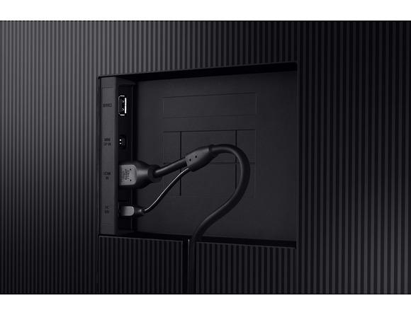 Monitor Samsung LS27R750QEUXEN, 27 inch, LED WQHD, VA, 2560 x 1440 pixeli, 16:9, 4 ms, 250cd/m2, 3.000:1,  Black Equalizer,  178°(H)/178°(V),  144Hz, FreeSync, Mini Display Port, HDMI, Tilt, HAS,  Sta 4
