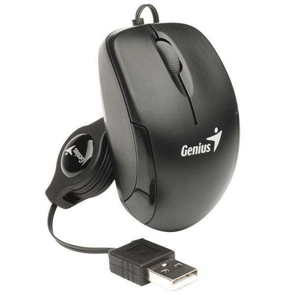 MOUSE GENIUS MICRO TRAVELER BLACK USB [0]
