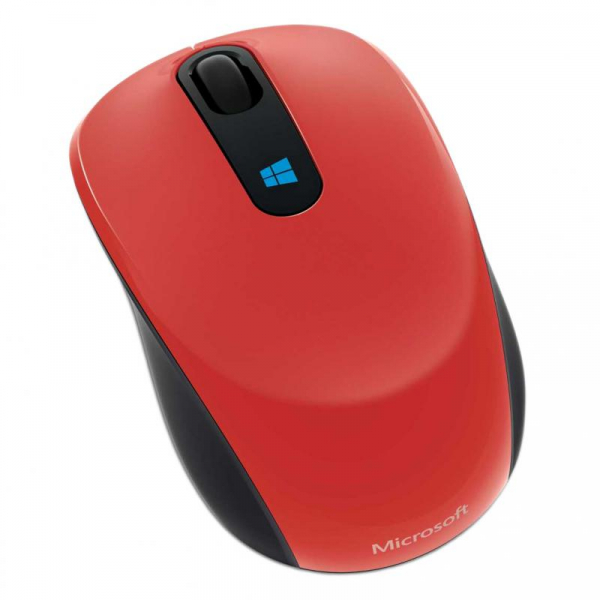MOUSE MICROSOFT SCULPT MOBILE MOUSE RED 0