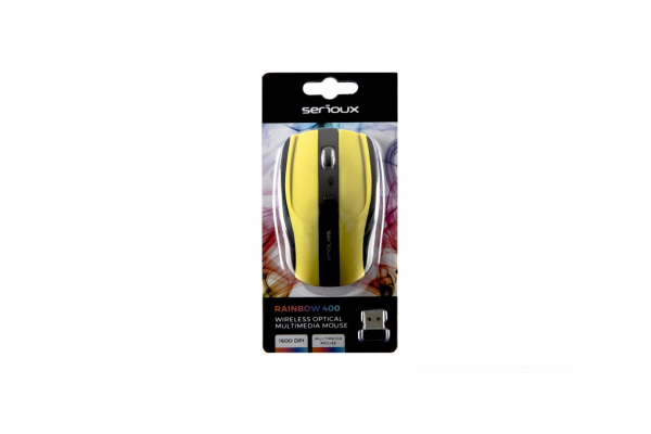 MOUSE SERIOUX RAINBOW400 WR GREEN USB [3]