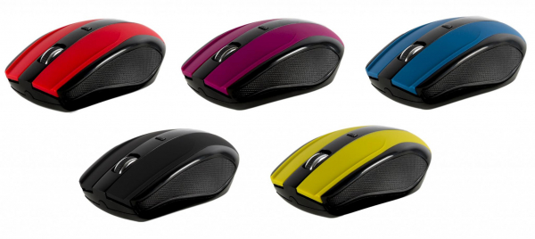 MOUSE SERIOUX RAINBOW400 WR RED USB [2]