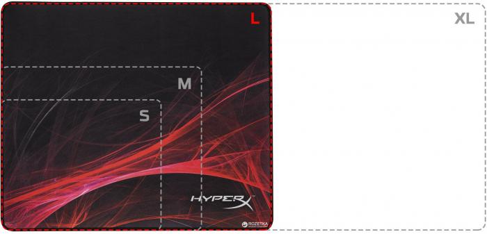 MOUSEPAD KINGSTON HYPERX - HX-MPFS-S-L [1]