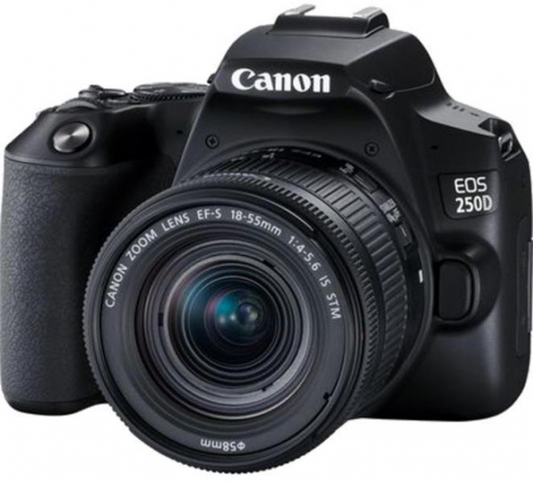 PHOTO CAMERA CANON 250D+18-55 IS STM KIT 0