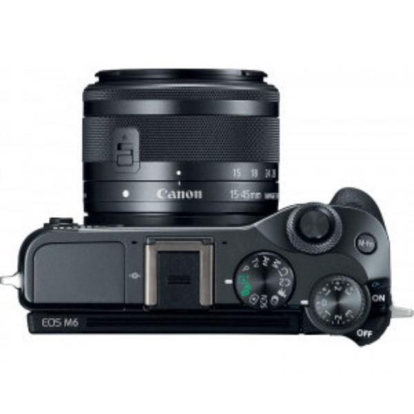 PHOTO CAMERA CANON EOS M6 EF-M 15-45MM 2